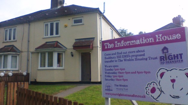 Bushbury Hill information house